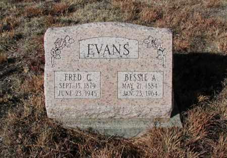 EVANS, BESSIE A. - El Paso County, Colorado | BESSIE A. EVANS - Colorado Gravestone Photos