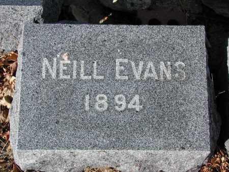 EVANS, NEILL - El Paso County, Colorado | NEILL EVANS - Colorado Gravestone Photos