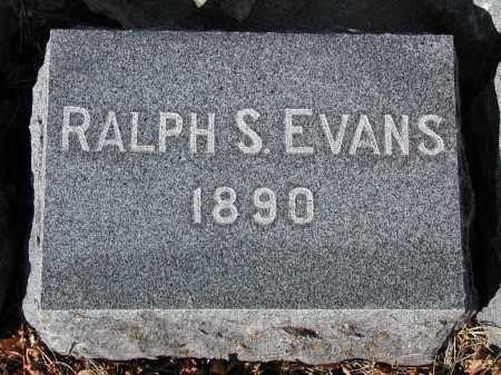 EVANS, RALPH S. - El Paso County, Colorado | RALPH S. EVANS - Colorado Gravestone Photos