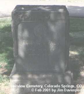 FALK, EDWARD W. - El Paso County, Colorado | EDWARD W. FALK - Colorado Gravestone Photos