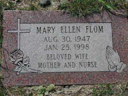 FLOM, MARY - El Paso County, Colorado | MARY FLOM - Colorado Gravestone Photos