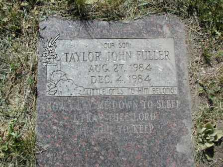 FULLER, TAYLOR - El Paso County, Colorado | TAYLOR FULLER - Colorado Gravestone Photos