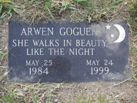 GOGUEN, ARWEN - El Paso County, Colorado   ARWEN GOGUEN - Colorado Gravestone Photos