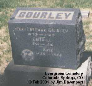 GOURLEY, KATE - El Paso County, Colorado | KATE GOURLEY - Colorado Gravestone Photos