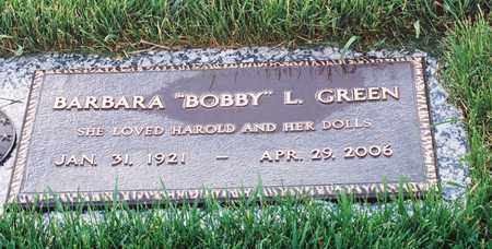 GREEN, BARBARA L - El Paso County, Colorado | BARBARA L GREEN - Colorado Gravestone Photos