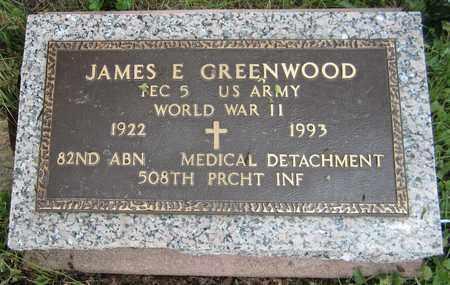 GREENWOOD, JAMES E. - El Paso County, Colorado | JAMES E. GREENWOOD - Colorado Gravestone Photos