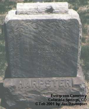 HARPSTER, TENNIE E. - El Paso County, Colorado | TENNIE E. HARPSTER - Colorado Gravestone Photos