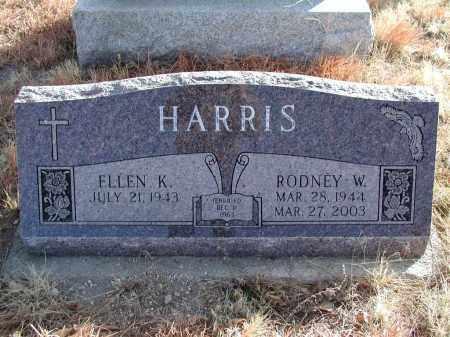 HARRIS, RODNEY W. - El Paso County, Colorado | RODNEY W. HARRIS - Colorado Gravestone Photos