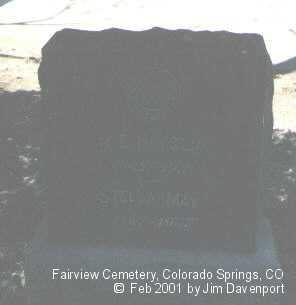 HAYSLIP, STELLA MAY - El Paso County, Colorado | STELLA MAY HAYSLIP - Colorado Gravestone Photos