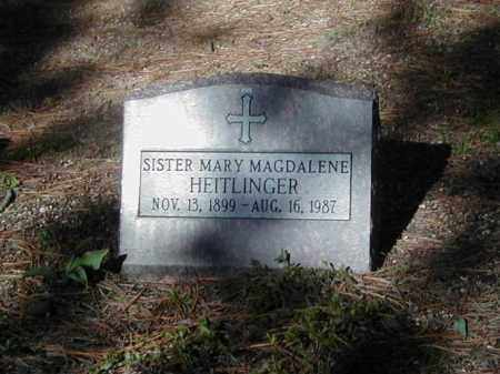 HEITLINGER, SR. MARY MAGDALENE - El Paso County, Colorado | SR. MARY MAGDALENE HEITLINGER - Colorado Gravestone Photos
