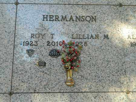 HERMANSON, ROY T - El Paso County, Colorado | ROY T HERMANSON - Colorado Gravestone Photos
