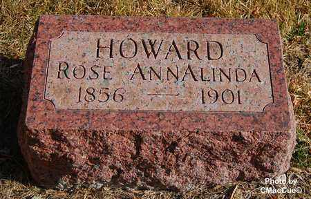 HOWARD, ROSE ANNALINDA - El Paso County, Colorado | ROSE ANNALINDA HOWARD - Colorado Gravestone Photos