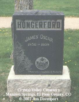 HUNGERFORD, JAMES OSCAR - El Paso County, Colorado | JAMES OSCAR HUNGERFORD - Colorado Gravestone Photos