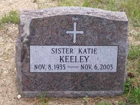 KEELEY, SR. KATIE - El Paso County, Colorado | SR. KATIE KEELEY - Colorado Gravestone Photos