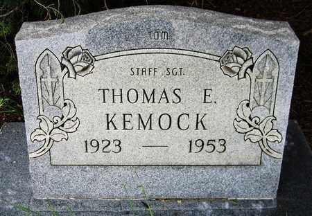 KEMOCK, THOMAS E. - El Paso County, Colorado | THOMAS E. KEMOCK - Colorado Gravestone Photos