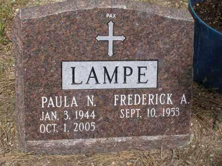 LAMPE, FREDERICK A. - El Paso County, Colorado   FREDERICK A. LAMPE - Colorado Gravestone Photos