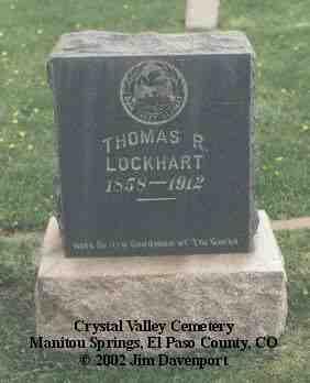 LOCKHART, THOMAS R. - El Paso County, Colorado | THOMAS R. LOCKHART - Colorado Gravestone Photos