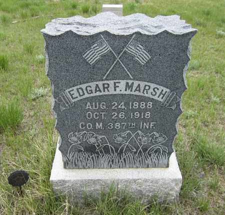 MARSH, EDGAR F. - El Paso County, Colorado | EDGAR F. MARSH - Colorado Gravestone Photos