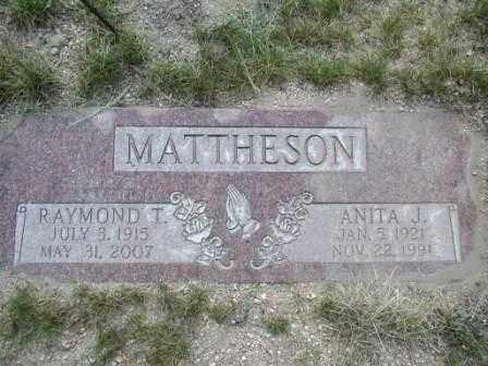 MATTHESON, RAYMOND - El Paso County, Colorado | RAYMOND MATTHESON - Colorado Gravestone Photos