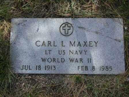MAXEY, CARL - El Paso County, Colorado | CARL MAXEY - Colorado Gravestone Photos