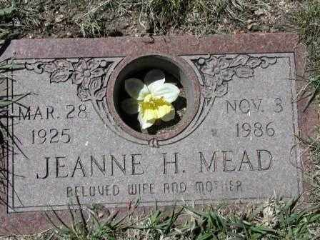 MEAD, JEANNE - El Paso County, Colorado | JEANNE MEAD - Colorado Gravestone Photos