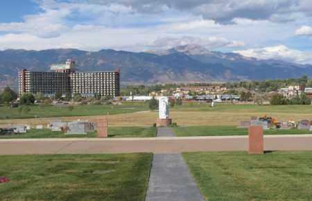 *MEMORIAL GARDENS, VIEW - El Paso County, Colorado | VIEW *MEMORIAL GARDENS - Colorado Gravestone Photos