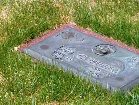 MILLER, LEO G - El Paso County, Colorado | LEO G MILLER - Colorado Gravestone Photos