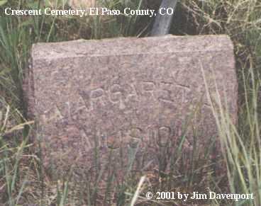 MUSICK, MARGARET A. - El Paso County, Colorado | MARGARET A. MUSICK - Colorado Gravestone Photos
