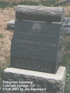 NASON, THEODORE - El Paso County, Colorado | THEODORE NASON - Colorado Gravestone Photos