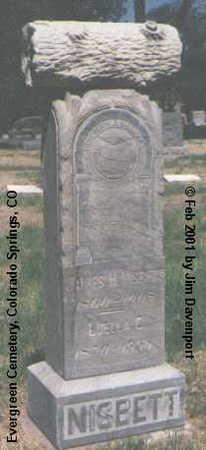 NISBETT, JAMES H. - El Paso County, Colorado | JAMES H. NISBETT - Colorado Gravestone Photos