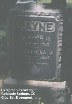 PAYNE, RICHARD H. - El Paso County, Colorado | RICHARD H. PAYNE - Colorado Gravestone Photos