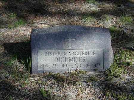 RICHMEIER, SR. MARGUERITE - El Paso County, Colorado | SR. MARGUERITE RICHMEIER - Colorado Gravestone Photos