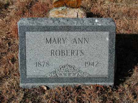 ROBERTS, MARY ANN - El Paso County, Colorado | MARY ANN ROBERTS - Colorado Gravestone Photos