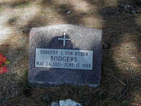 RODGERS, DOROTHY I. - El Paso County, Colorado   DOROTHY I. RODGERS - Colorado Gravestone Photos