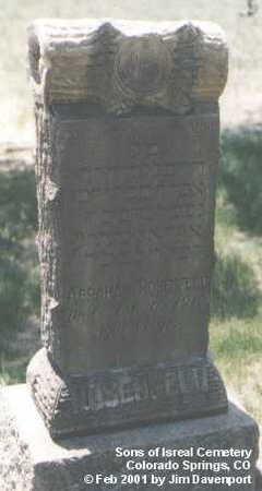 ROSENFELD, ABRAHAM - El Paso County, Colorado   ABRAHAM ROSENFELD - Colorado Gravestone Photos