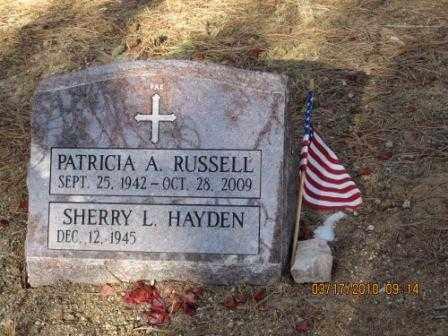 RUSSELL, PATRICIA A. - El Paso County, Colorado | PATRICIA A. RUSSELL - Colorado Gravestone Photos