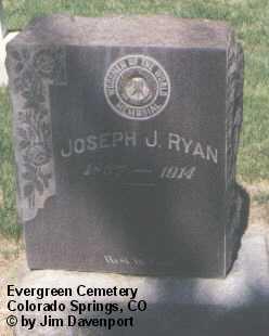 RYAN, JOSEPH J. - El Paso County, Colorado | JOSEPH J. RYAN - Colorado Gravestone Photos
