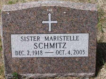 SCHMITZ, SR. MARISTELLE - El Paso County, Colorado | SR. MARISTELLE SCHMITZ - Colorado Gravestone Photos