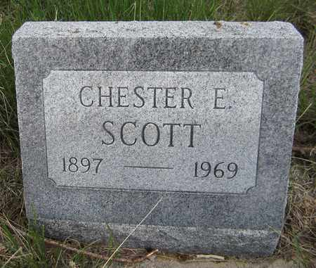 SCOTT, CHESTER E. - El Paso County, Colorado | CHESTER E. SCOTT - Colorado Gravestone Photos