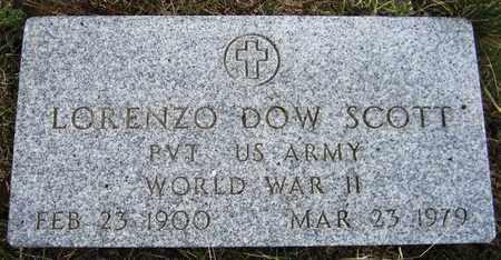 SCOTT, LORENZO DOW - El Paso County, Colorado | LORENZO DOW SCOTT - Colorado Gravestone Photos