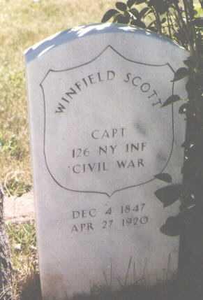 SCOTT, WINFIELD - El Paso County, Colorado | WINFIELD SCOTT - Colorado Gravestone Photos