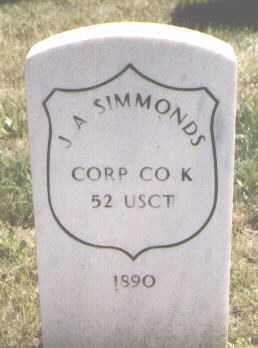 SIMMONDS, J. A. - El Paso County, Colorado | J. A. SIMMONDS - Colorado Gravestone Photos