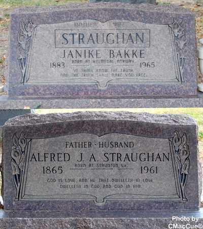 BAKKE STRAUGHAN, JANIKE - El Paso County, Colorado | JANIKE BAKKE STRAUGHAN - Colorado Gravestone Photos
