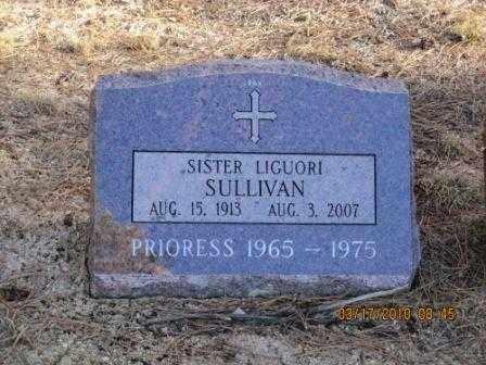 SULLIVAN, SR. LIGUORI - El Paso County, Colorado | SR. LIGUORI SULLIVAN - Colorado Gravestone Photos