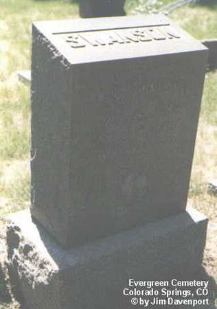SWANSON, A. E. - El Paso County, Colorado | A. E. SWANSON - Colorado Gravestone Photos