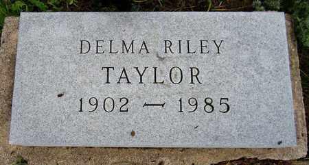 TAYLOR, DELMA - El Paso County, Colorado | DELMA TAYLOR - Colorado Gravestone Photos