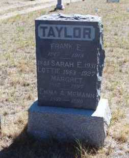 TAYLOR MCMANN, EMMA A - El Paso County, Colorado | EMMA A TAYLOR MCMANN - Colorado Gravestone Photos