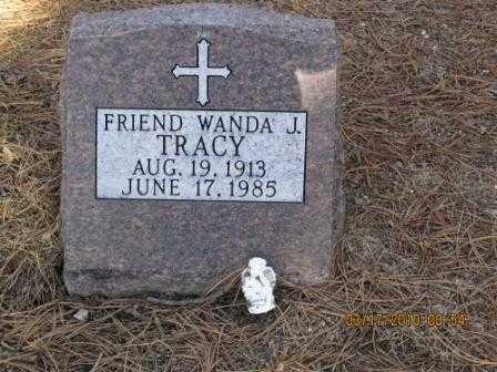 TRACY, WANDA J. - El Paso County, Colorado   WANDA J. TRACY - Colorado Gravestone Photos