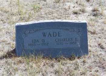 WADE, IDA OLA - El Paso County, Colorado | IDA OLA WADE - Colorado Gravestone Photos