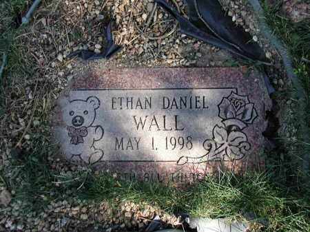 WALL, ETHAN D. - El Paso County, Colorado | ETHAN D. WALL - Colorado Gravestone Photos
